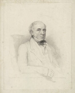 Unknown man, formerly known as John Gurwood, by Frederick Christian Lewis Sr, after  Andrew Morton - NPG D35078