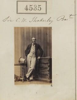 Sir Charles Watkin Shakerley, 2nd Bt, by Camille Silvy - NPG Ax54547