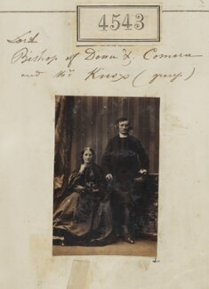 Catherine Delia Knox (née Fitzgibbon); Robert Bent Knox, by Camille Silvy - NPG Ax54555
