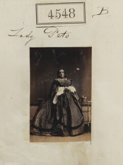 Sarah Ainsworth (née Kelsall), Lady Peto, by Camille Silvy - NPG Ax54560