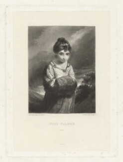 Theophila Gwatkin (née Palmer), by Samuel William Reynolds, published by  Henry Graves & Co, after  Sir Joshua Reynolds - NPG D35086