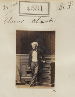 Thomas Alcock, by Camille Silvy - NPG Ax54593