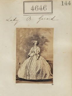 Harriet (née Clifton), Lady Gerard, by Camille Silvy - NPG Ax54658