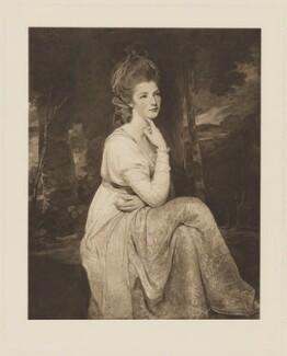 Elizabeth Stanley (née Hamilton), Countess of Derby, after George Romney - NPG D35130
