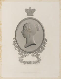 Queen Victoria, by Alfred Robert Freebairn, published by  Robert Jennings, after  C. Henry Weigall - NPG D35046