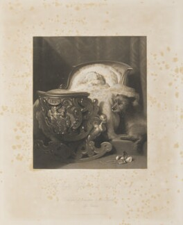 Princess Alice, Grand Duchess of Hesse, by Thomas Landseer, published by  Joseph Hogarth, after  Edwin Landseer - NPG D35055