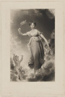 Georgina Mary (née Cottin), Lady De Tabley, by Edward McInnes, published by  Graves & Warmsley, after  Sir Thomas Lawrence - NPG D35143