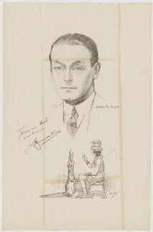 Lauri de Frece, after Howard van Dusen, and after  John Hassall - NPG D35148