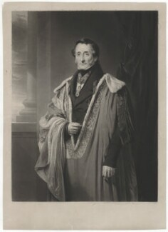 Thomas Hamilton, 9th Earl of Haddington, by William Walker, after  Robert McInnes - NPG D35100
