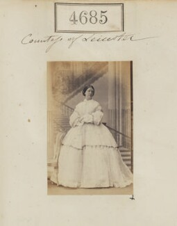 Juliana (née Whitbread), Countess of Leicester of Holkham, by Camille Silvy - NPG Ax54697