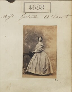 Hon. Gertrude Anne Hamersley (née Holmes à Court), by Camille Silvy - NPG Ax54700