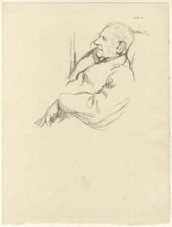 Sir Francis Seymour Haden, by William Rothenstein - NPG D35102