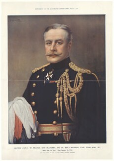 Douglas Haig, 1st Earl Haig, supplement to Illustrated London News, after  John St Helier Lander - NPG D35108