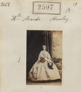 Hon. Maude Alethea Stanley, by Camille Silvy - NPG Ax51986