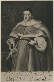 Sir Matthew Hale, after John Michael Wright - NPG D35113
