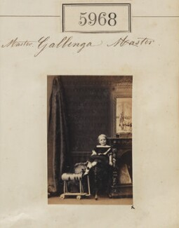 Guy Hardwin Gallenga, by Camille Silvy - NPG Ax55923
