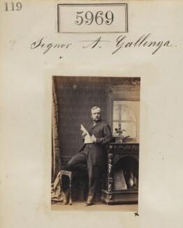 Antonio Carlo Napoleone Gallenga, by Camille Silvy - NPG Ax55924