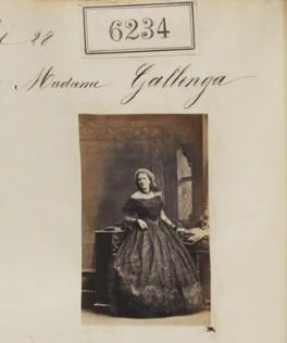 Anna Gallenga (née Johnson), by Camille Silvy - NPG Ax56180