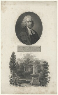 Stephen Hales, by William Hopwood, published by  Robert John Thornton, after  Thomas Hudson, and after  Coates - NPG D35209