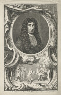 George Savile, 1st Marquess of Halifax, by Jacobus Houbraken, published by  John & Paul Knapton - NPG D35212