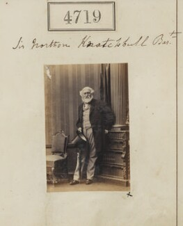 Sir Norton Joseph Knatchbull, 10th Bt, by Camille Silvy - NPG Ax54730