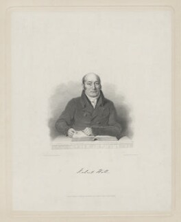 Robert Hall, by William Finden, published by  Holdsworth and Ball, after  Nathan Cooper Branwhite - NPG D35226