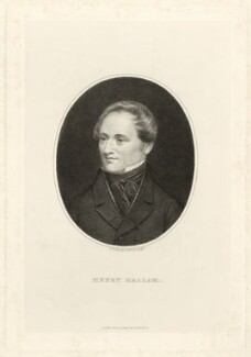 Henry Hallam, by G. Gabrielli, published by  Williams & Son - NPG D35230