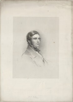 Henry Fitzmaurice Hallam, by Francis Holl, after  George Richmond - NPG D35233