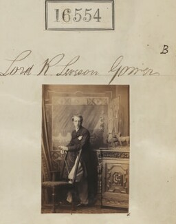 Lord Ronald Charles Sutherland-Leveson-Gower, by Camille Silvy - NPG Ax64461