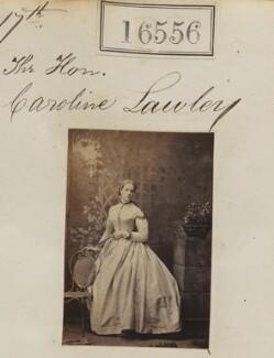 Hon. Caroline Elizabeth Molyneux (née Lawley), by Camille Silvy - NPG Ax64463