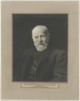 Sir (Thomas) Frederick Halsey, 1st Bt, by Grove, Son and Boulton - NPG D35236