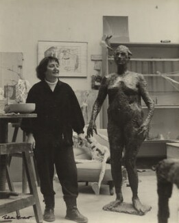 Germaine Richier, by Ida Kar - NPG x132733