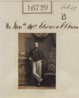 Edward Donough O'Brien, 14th Baron Inchiquin, by Camille Silvy - NPG Ax64620