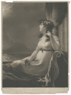 Emma Hamilton, by and published by William Say, after  John James Masquerier - NPG D35239