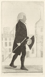Sir Ilay Campbell, 1st Bt, by John Kay - NPG D34739