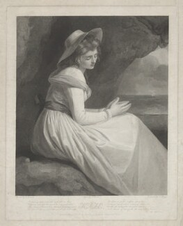 Emma Hamilton ('Kate'), by Charles Brome, by  Thomas Bragg, published by  Richard Lambe, after  George Romney - NPG D35242