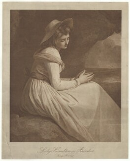 Emma Hamilton ('Lady Hamilton as Ariadne'), after George Romney - NPG D35244