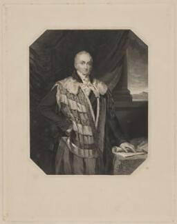William Courtenay, 10th Earl of Devon, by Joseph Brown, after  Elizabeth Walker (née Reynolds) - NPG D35153