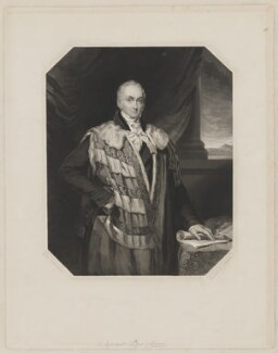 William Courtenay, 10th Earl of Devon, by Joseph Brown, after  Elizabeth Walker (née Reynolds) - NPG D35154