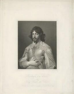 James Hamilton, 1st Duke of Hamilton, by Charles Theodosius Heath, published by  Hurst & Robinson, after  Sir Anthony van Dyck - NPG D35252