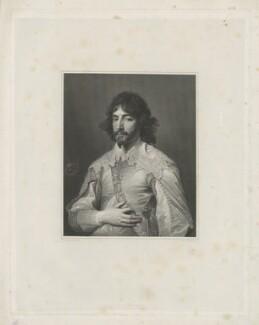 James Hamilton, 1st Duke of Hamilton, by Charles Theodosius Heath, published by  Hurst & Robinson, after  Sir Anthony van Dyck - NPG D35253