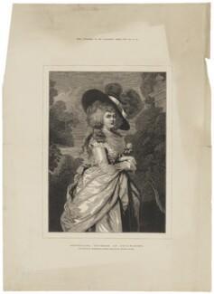 Georgiana Cavendish (née Spencer), Duchess of Devonshire, after Thomas Gainsborough - NPG D35171