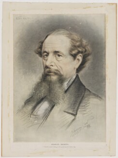 Charles Dickens, after E. Goodwyn Lewis - NPG D35174