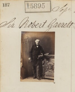 Sir Robert Garrett, by Camille Silvy - NPG Ax63825