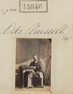 Odo William Leopold Russell, 1st Baron Ampthill, by Camille Silvy - NPG Ax63776