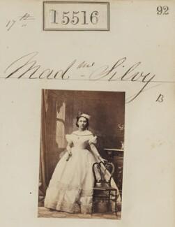 (Louise Marie Elisabeth Lucie) Alice Silvy (née Monnier), by Camille Silvy - NPG Ax63448