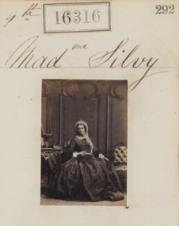 Marie-Louise Silvy (née Pied), by Camille Silvy - NPG Ax64230