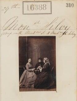 (Louise Marie Elisabeth Lucie) Alice Silvy (née Monnier); Camille Silvy; Marie-Louise Silvy (née Pied), by Camille Silvy - NPG Ax64301