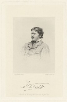 William, 12th Duke of Hamilton, by Joseph Brown, published by  A.H. Baily & Co, after  John Jabez Edwin Mayall - NPG D35263