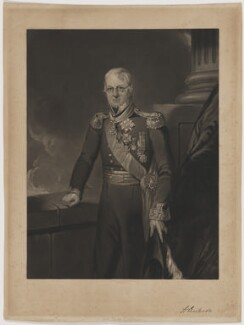 Sir Alexander Dickson, by William Henry Simmons, after  William Salter - NPG D35177